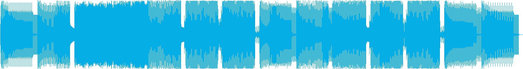 「アングラなノリノリEDM」の再生済みの波形