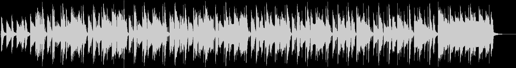 優雅なリコーダーがメインの曲の未再生の波形