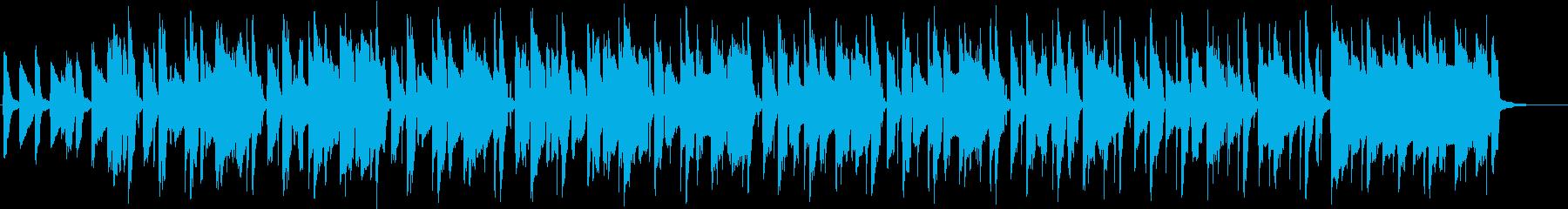 優雅なリコーダーがメインの曲の再生済みの波形