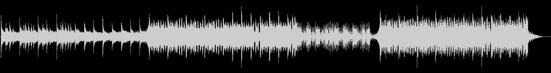 穏やかなピアノ・エレクトリック2の未再生の波形