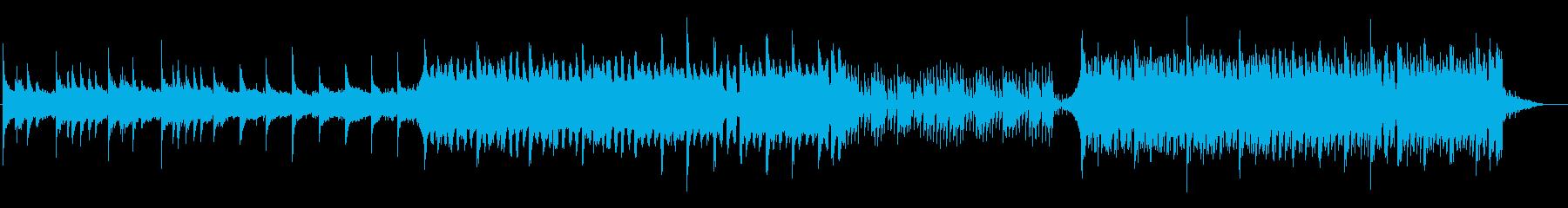 穏やかなピアノ・エレクトリック2の再生済みの波形