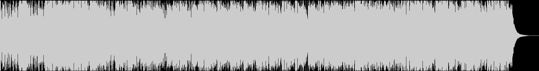 軽快なフィドルのケルトミュージックの未再生の波形