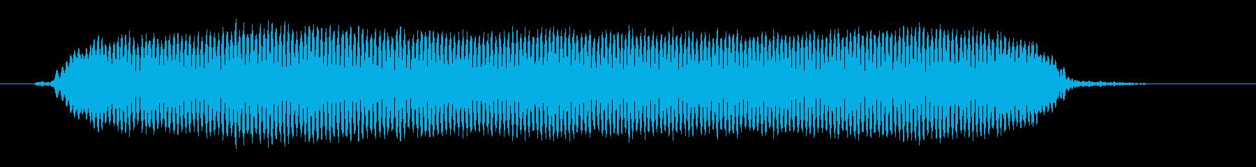 「ピッ」サッカー ファールの笛 の再生済みの波形