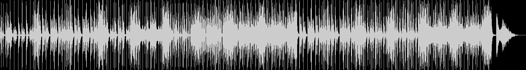 コメディやギャグに適したBGM Dの未再生の波形