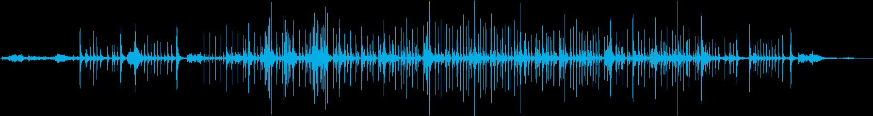 沖縄民謡風のBGMの再生済みの波形