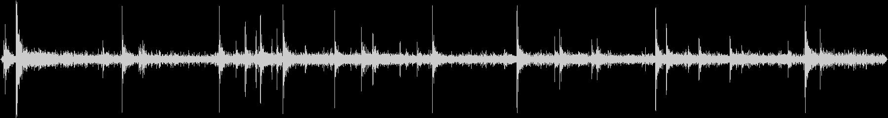 電気溶接機のスパーク音の未再生の波形
