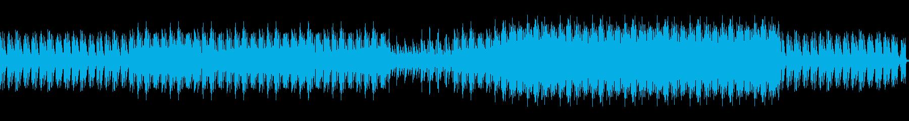ニューディスコ。ソフトリラックス、未来の再生済みの波形