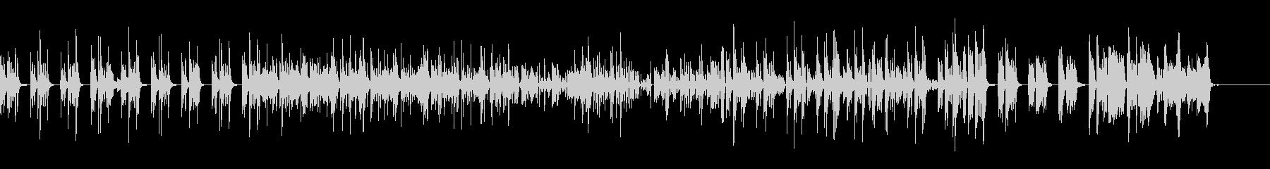 シロフォンのミニマル感とブレ=グリッチの未再生の波形