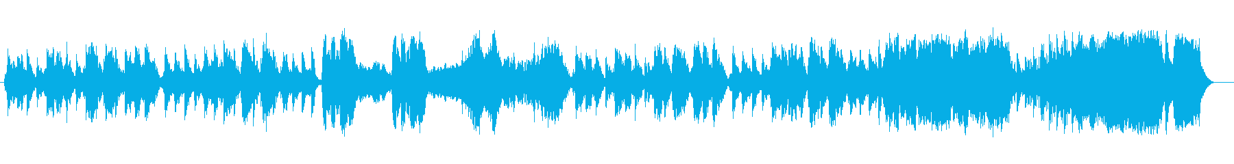 Elegant, lovely, classical waltz melody's reproduced waveform