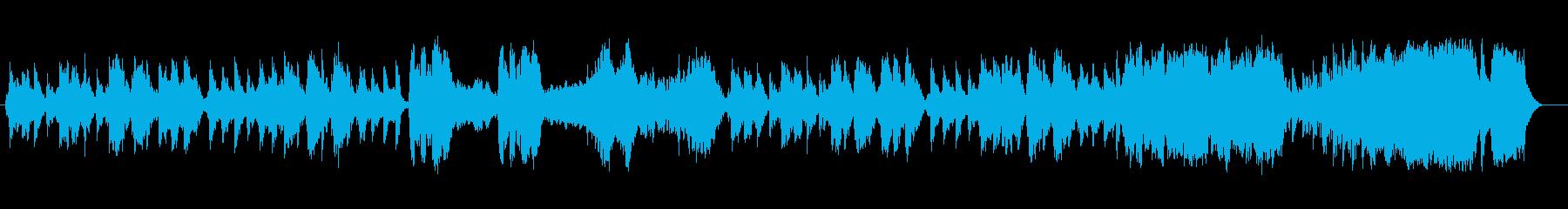 優雅で可憐でクラシカルなワルツメロディーの再生済みの波形