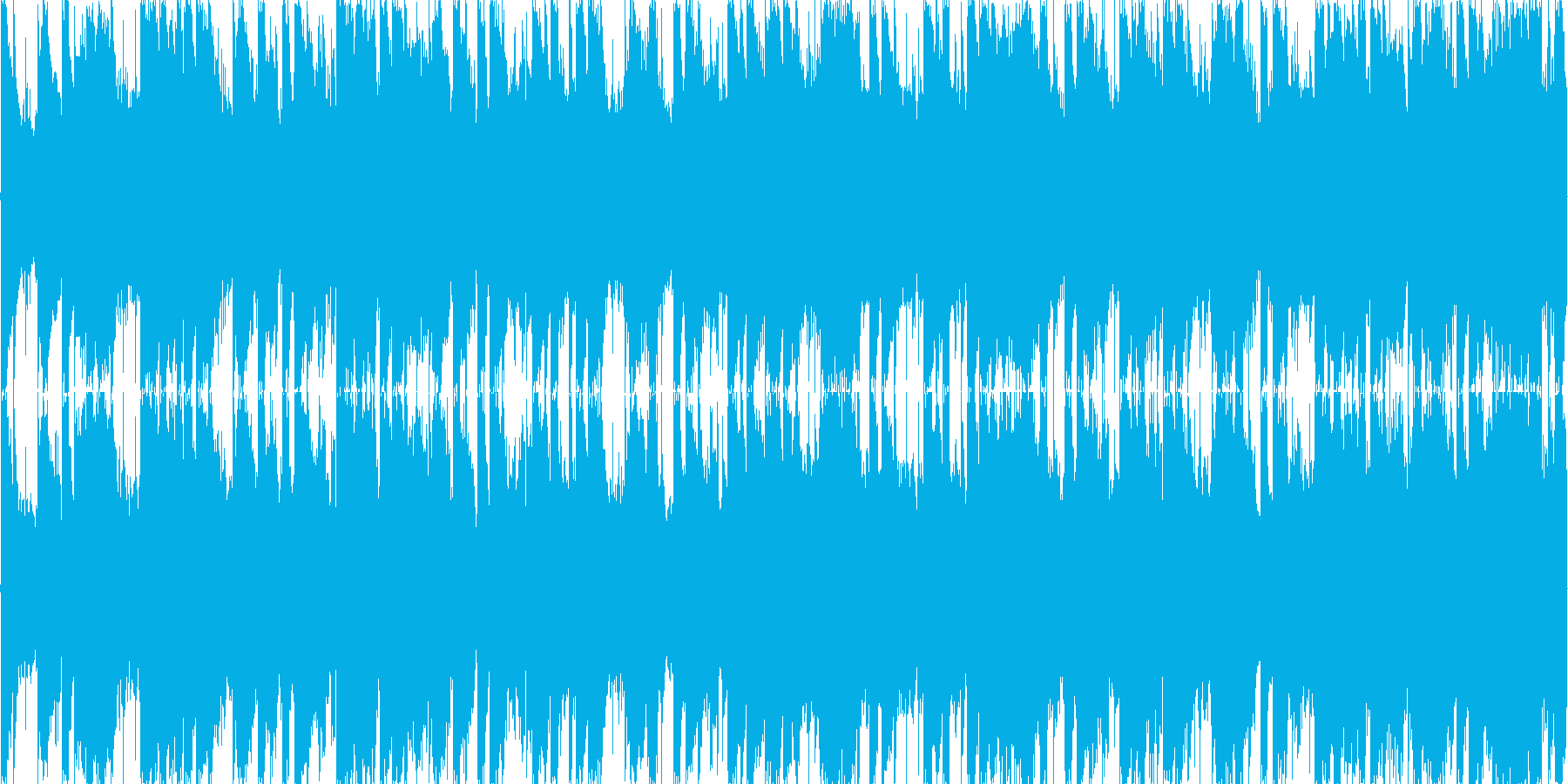 MOTIF XSの美しいエレクトリック…の再生済みの波形