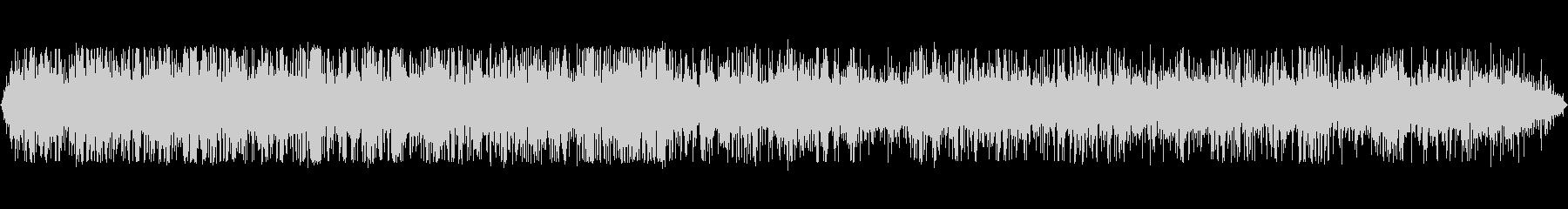 小さなストリーム:流れる、クローズアップの未再生の波形