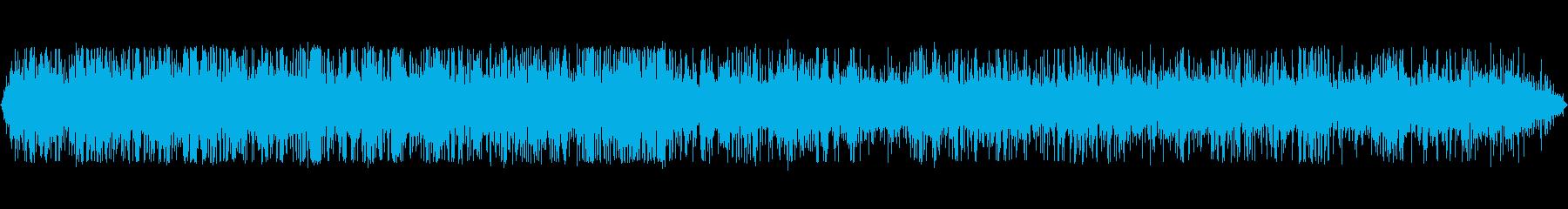 小さなストリーム:流れる、クローズアップの再生済みの波形