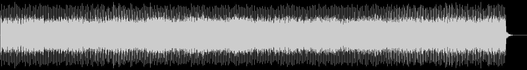 テクノっぽいニュース的なBGMの未再生の波形