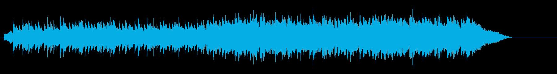 ハートをくすぐるウォームサウンドの再生済みの波形