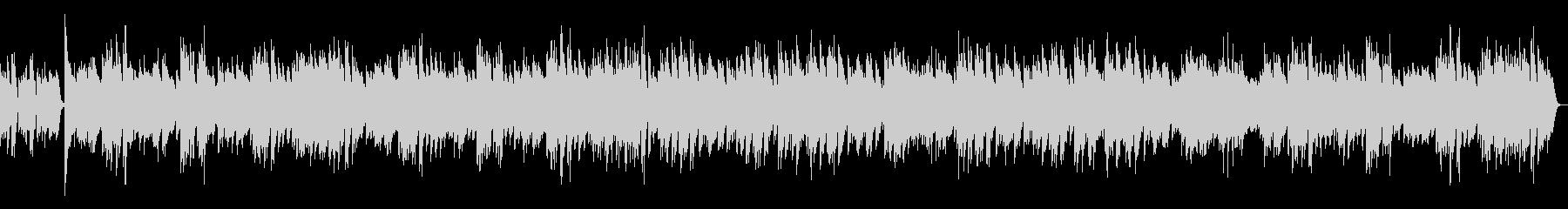 ジ・エンターテイナー ラグタイム(速い)の未再生の波形