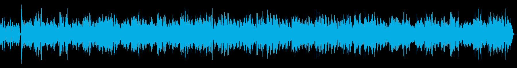 ジ・エンターテイナー ラグタイム(速い)の再生済みの波形