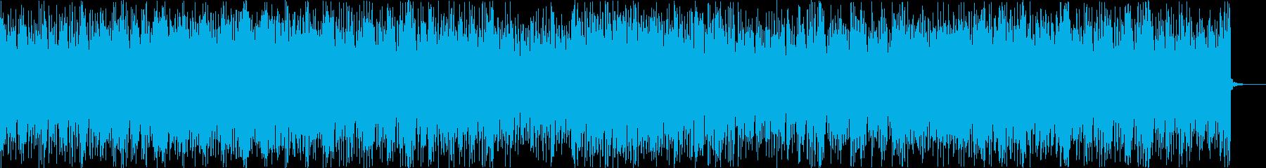 ポップでクールで都会的なテクノポップの再生済みの波形