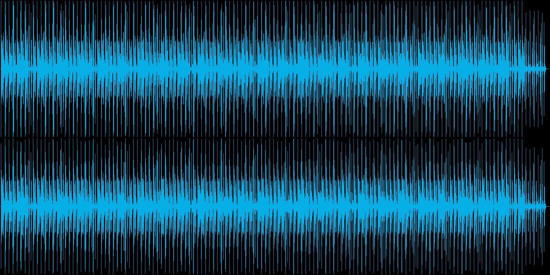 色々使えるドラムのみのテクノの再生済みの波形