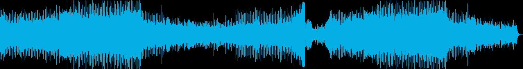ピアノ EDM 華やか 美メロ スポーツの再生済みの波形