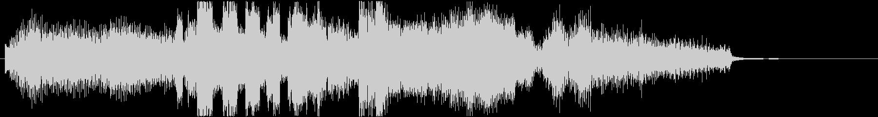 サックスとエレピの大人のジングル12秒の未再生の波形