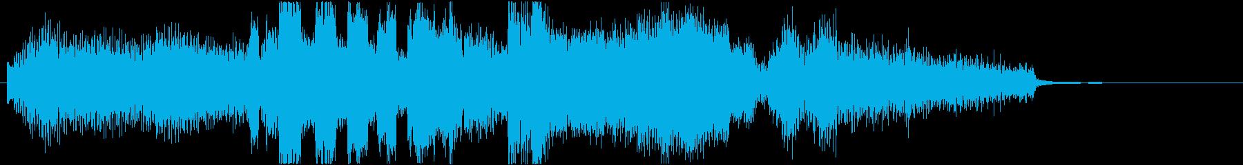 サックスとエレピの大人のジングル12秒の再生済みの波形