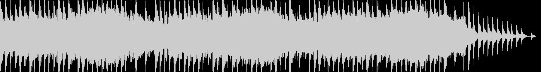 ピアノメインのホラー系BGMの未再生の波形