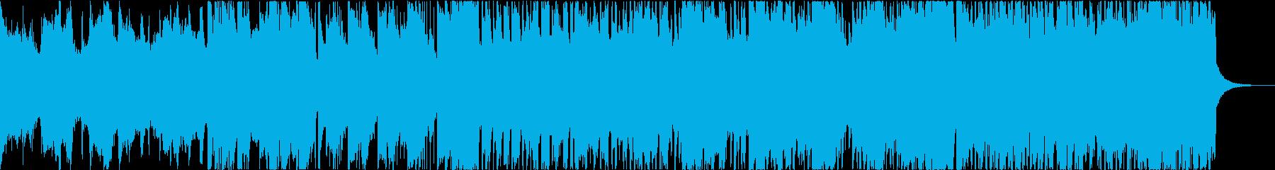 熱い・激しい・勢いのあるハードロックの再生済みの波形