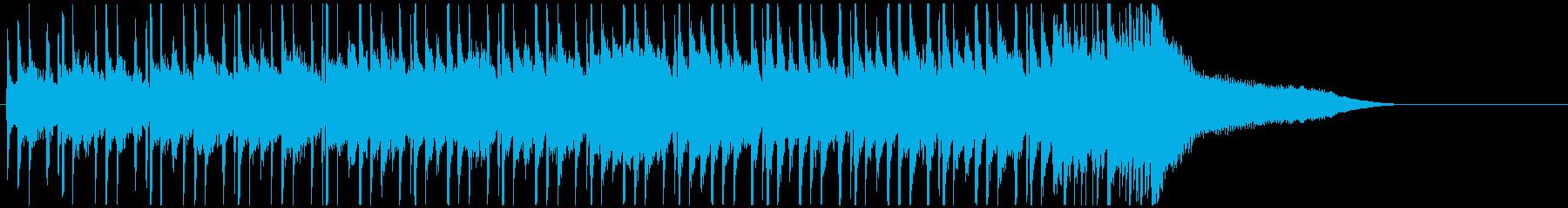 企業VP系ジングル 爽やかピアノとギターの再生済みの波形
