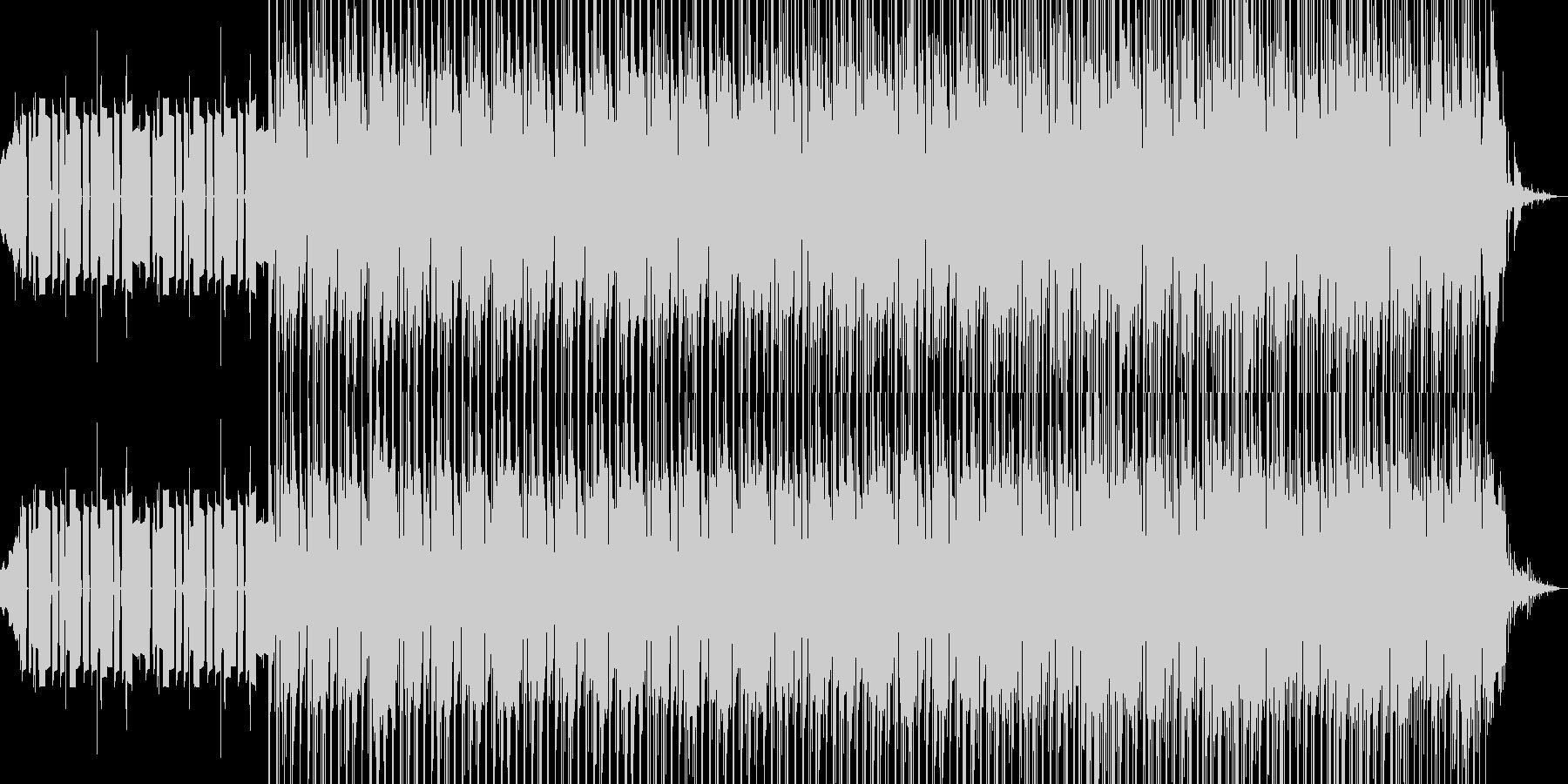 アンビエント アクティブ 明るい ...の未再生の波形