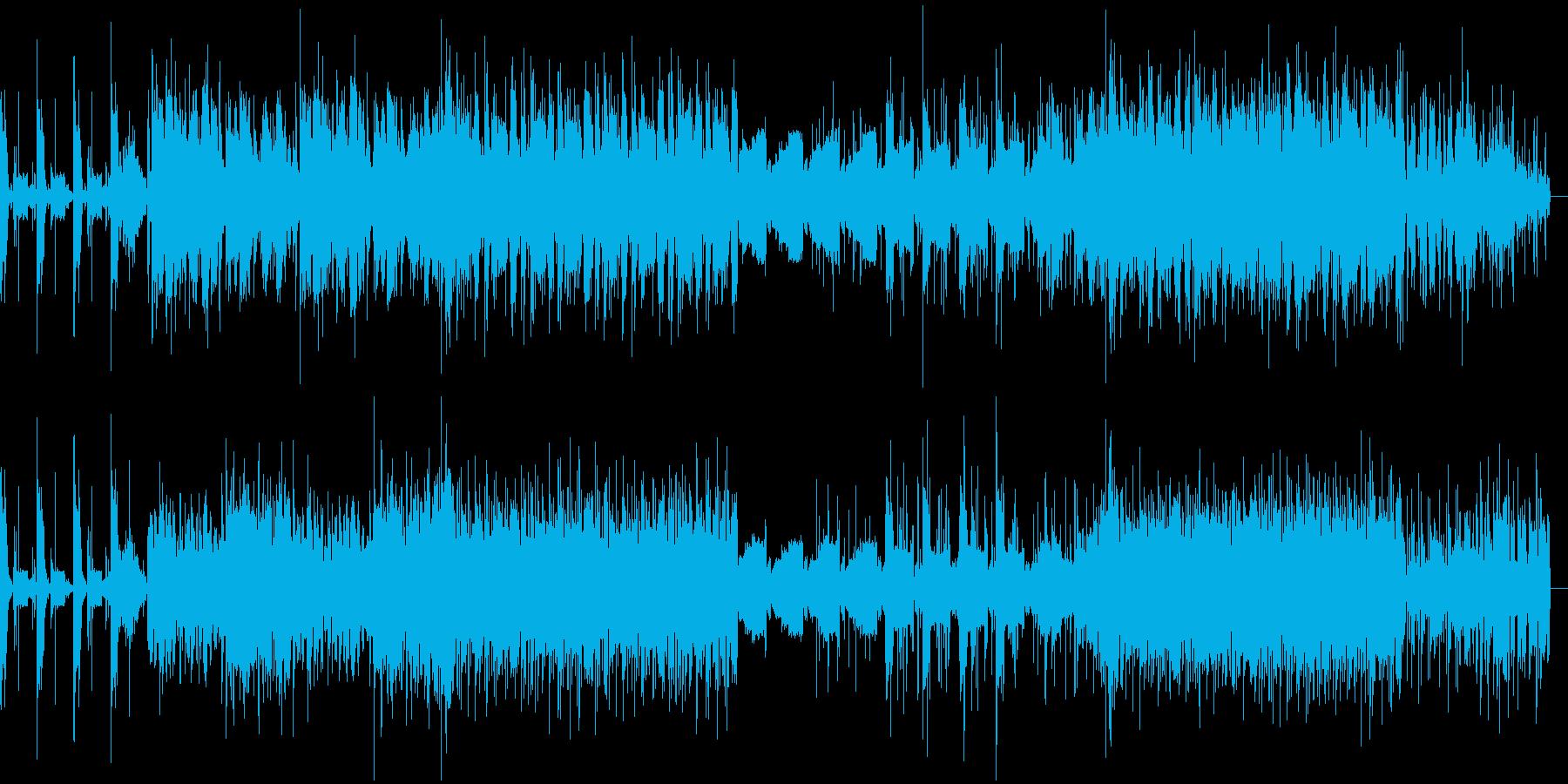 近未来型のアンドロイド・SFポップの再生済みの波形