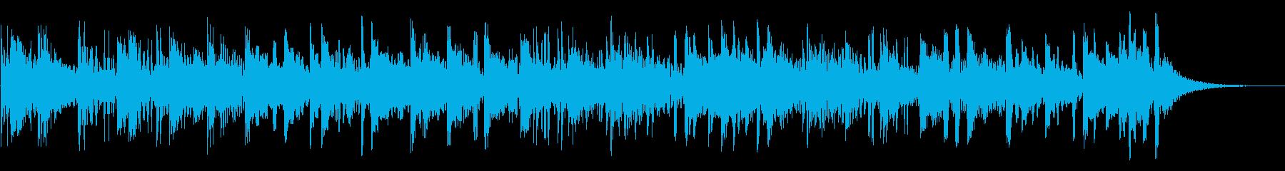 ワイルドドラム、漫画コメディパーカ...の再生済みの波形