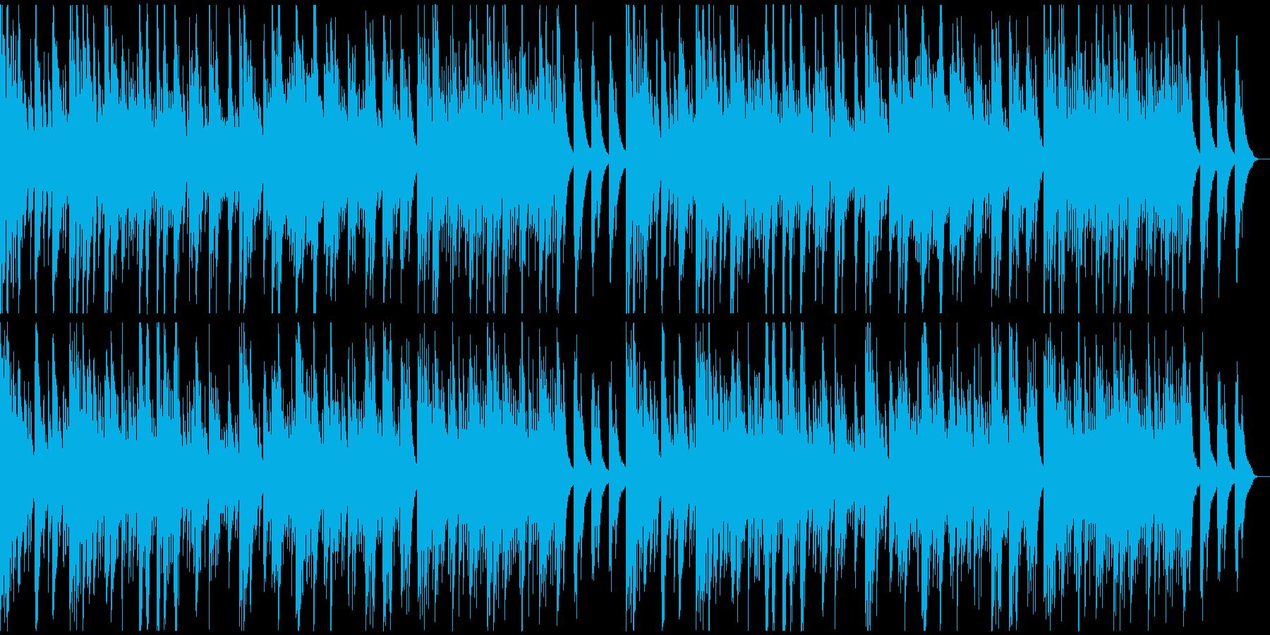 彷徨うようなムードのソロ・ピアノの再生済みの波形