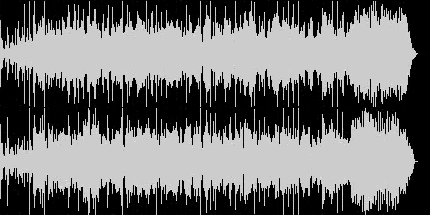 カッコいいハードロックのギターリフの未再生の波形