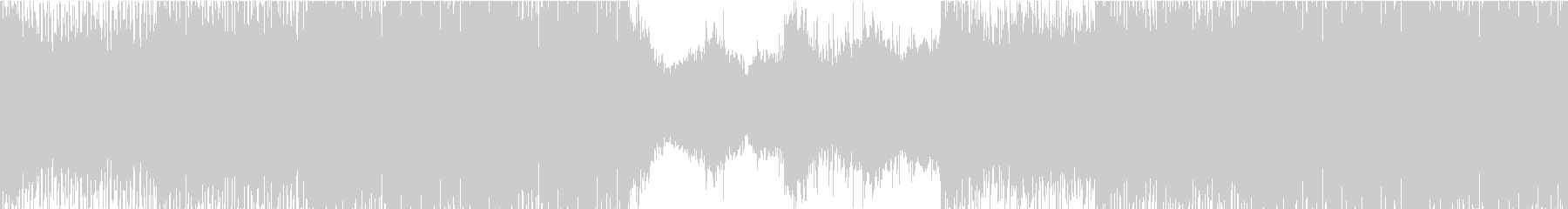 ダークで重厚感のあるシネマティックBGMの未再生の波形
