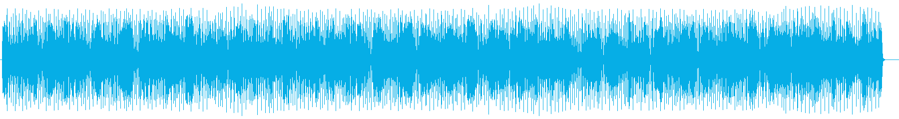 明るく愉快なシンセサイザーのポップスの再生済みの波形