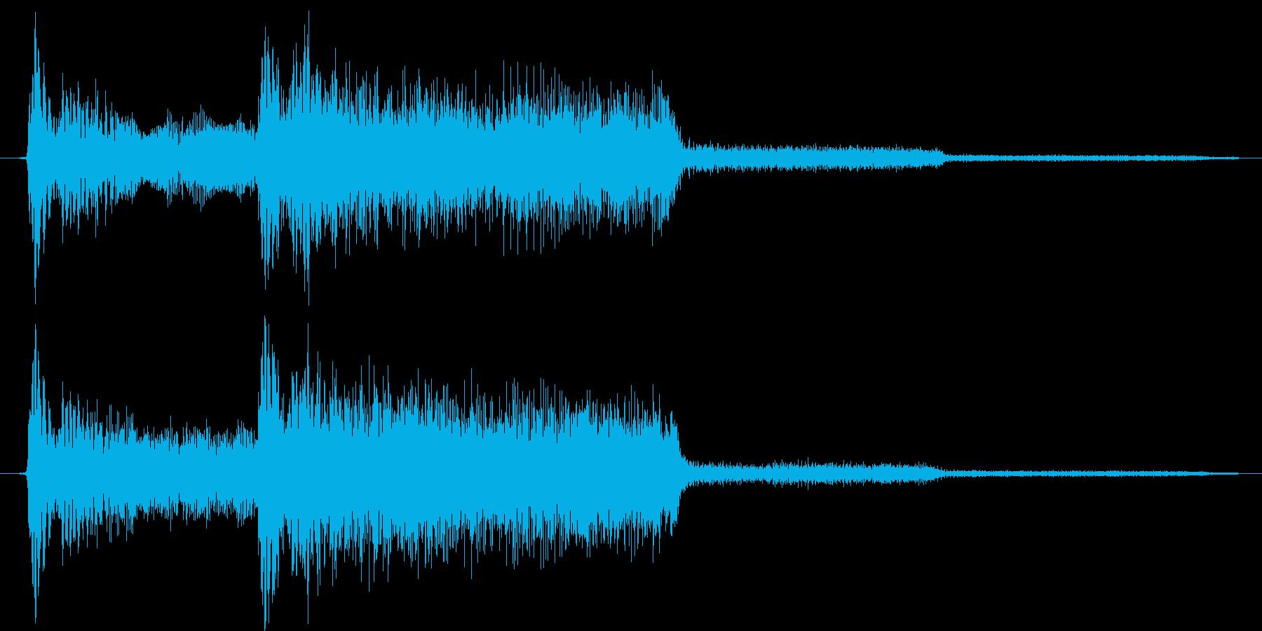 ゲーム、クイズ(正解)_005の再生済みの波形
