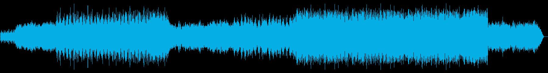 シンセとストリングスのアンビエントな作品の再生済みの波形