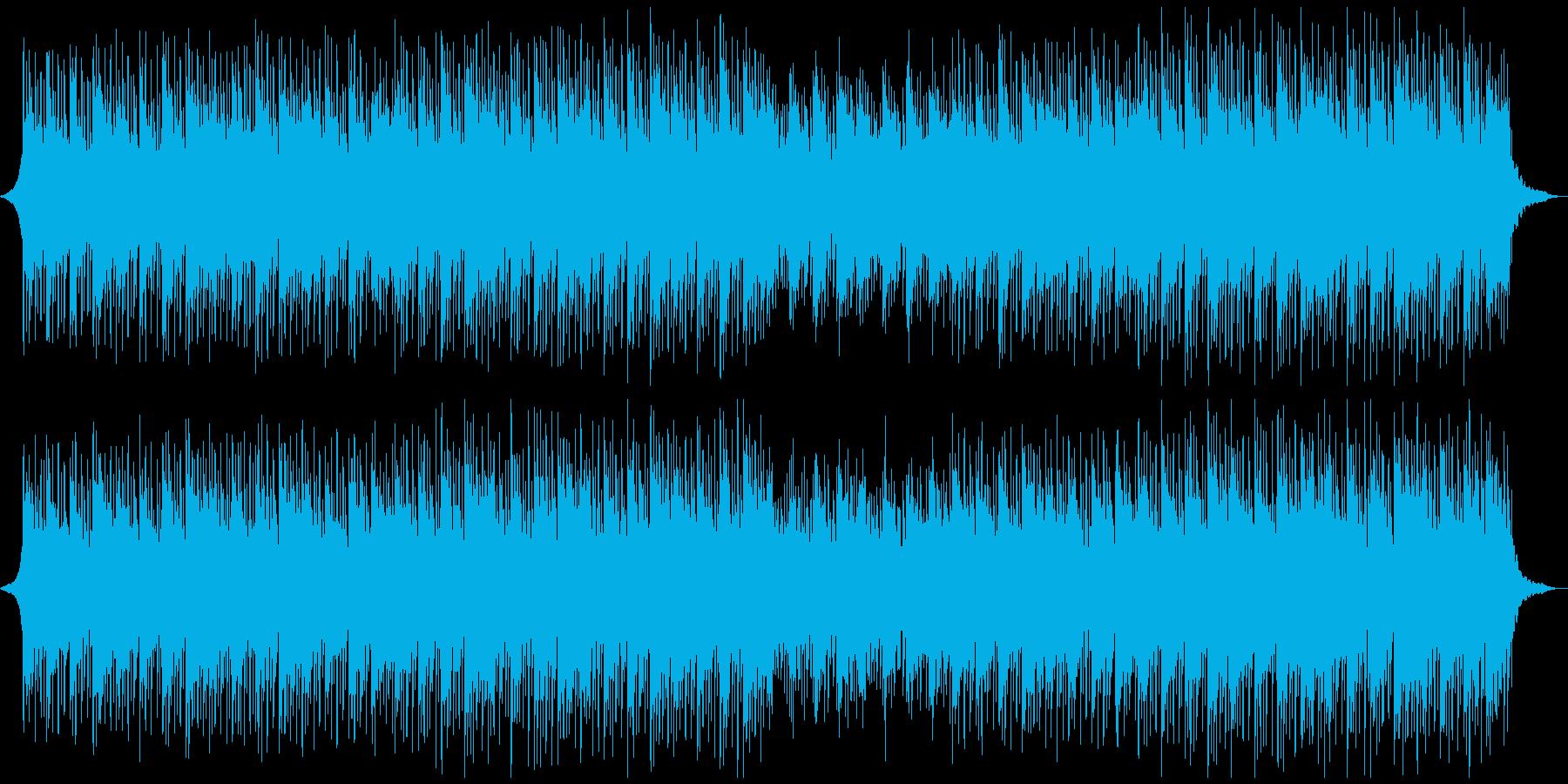 プレゼンテーション技術の再生済みの波形
