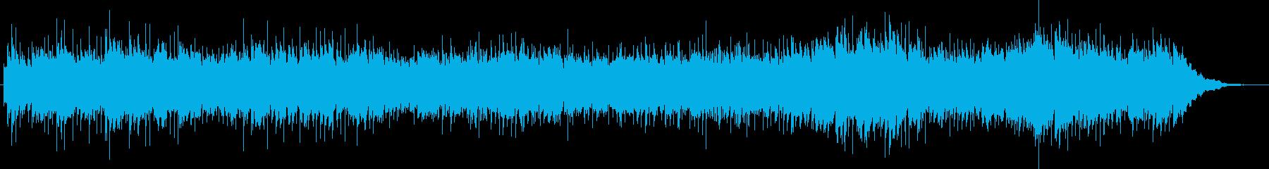 メルヘンの世界のかわいいジングルの再生済みの波形