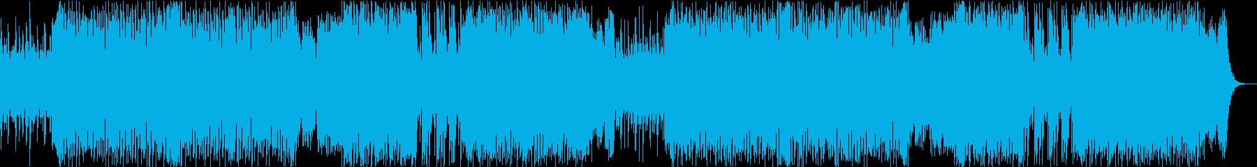 シネマティックで壮大なループオーケストラの再生済みの波形