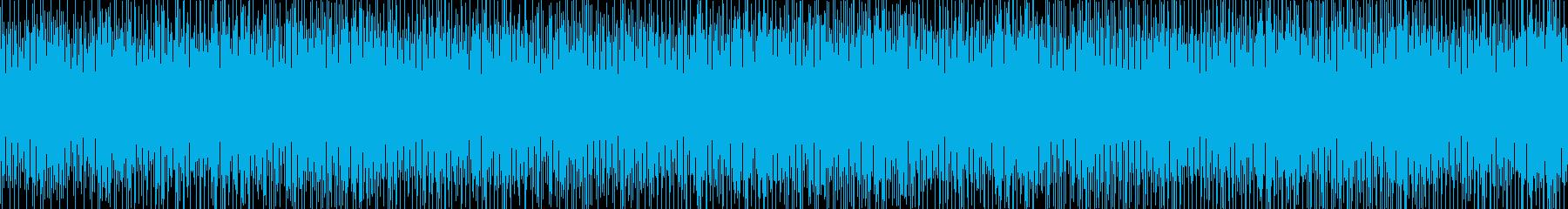 A fun, laid-back, bright pop loop's reproduced waveform