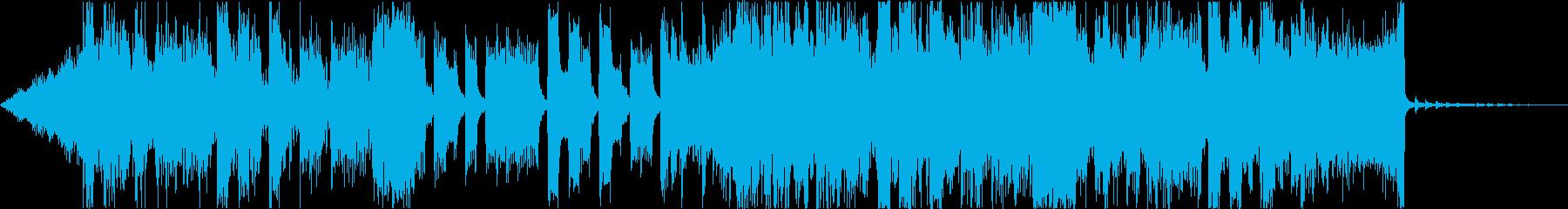 緊迫デジタルダークシネマティックEDMdの再生済みの波形