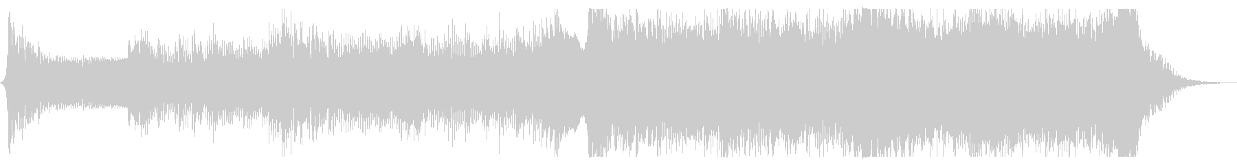 緊迫感のあるEpic系オーケストラの未再生の波形