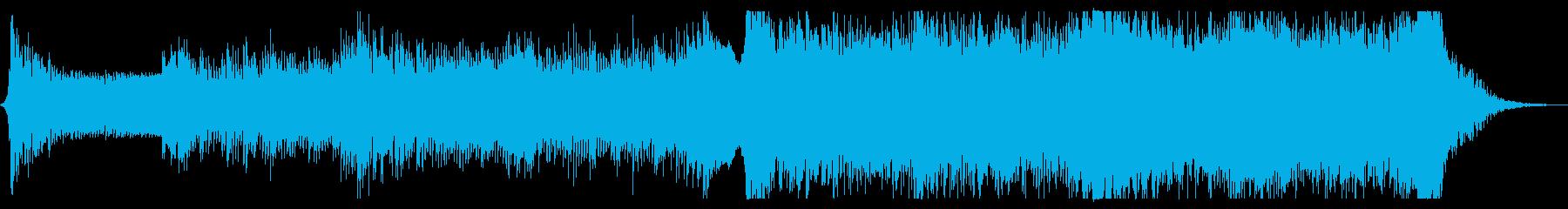 緊迫感のあるEpic系オーケストラの再生済みの波形