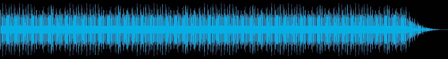 GB風シューティングのボス曲の再生済みの波形