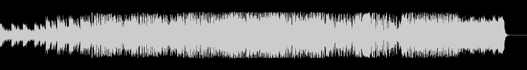 コスモスをイメージしたファンタジー曲の未再生の波形