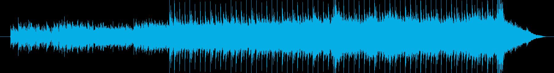 心地よいリズムでやわらかいメロディーの再生済みの波形