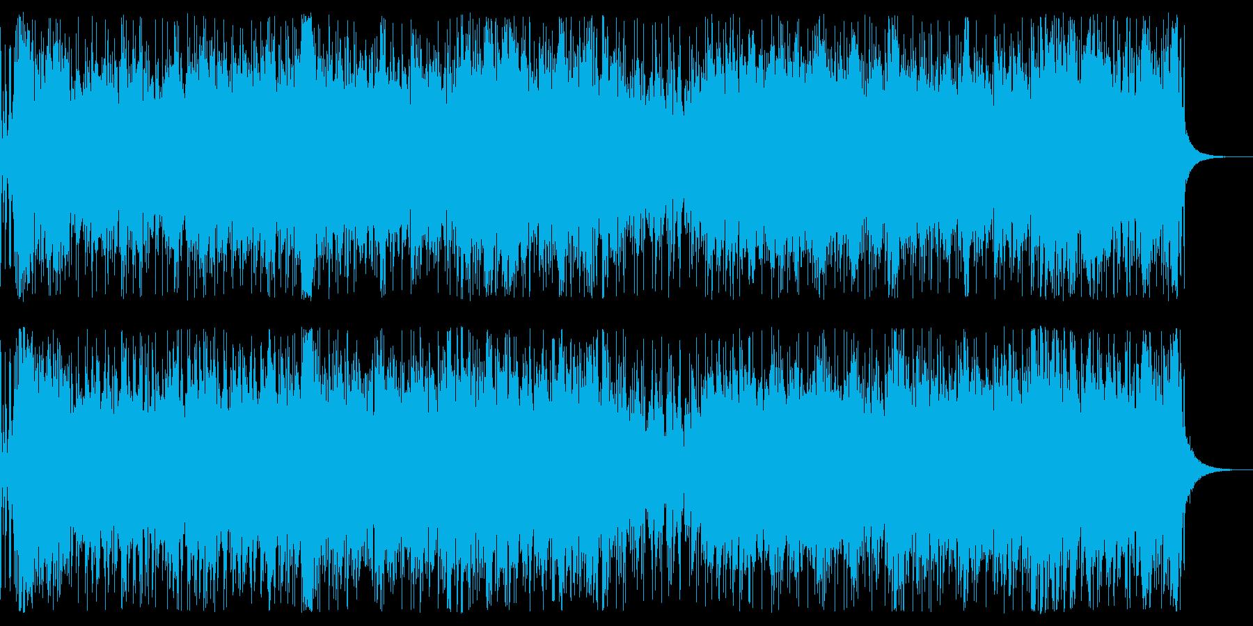 バイオリンのかっこいい戦闘バトル曲の再生済みの波形