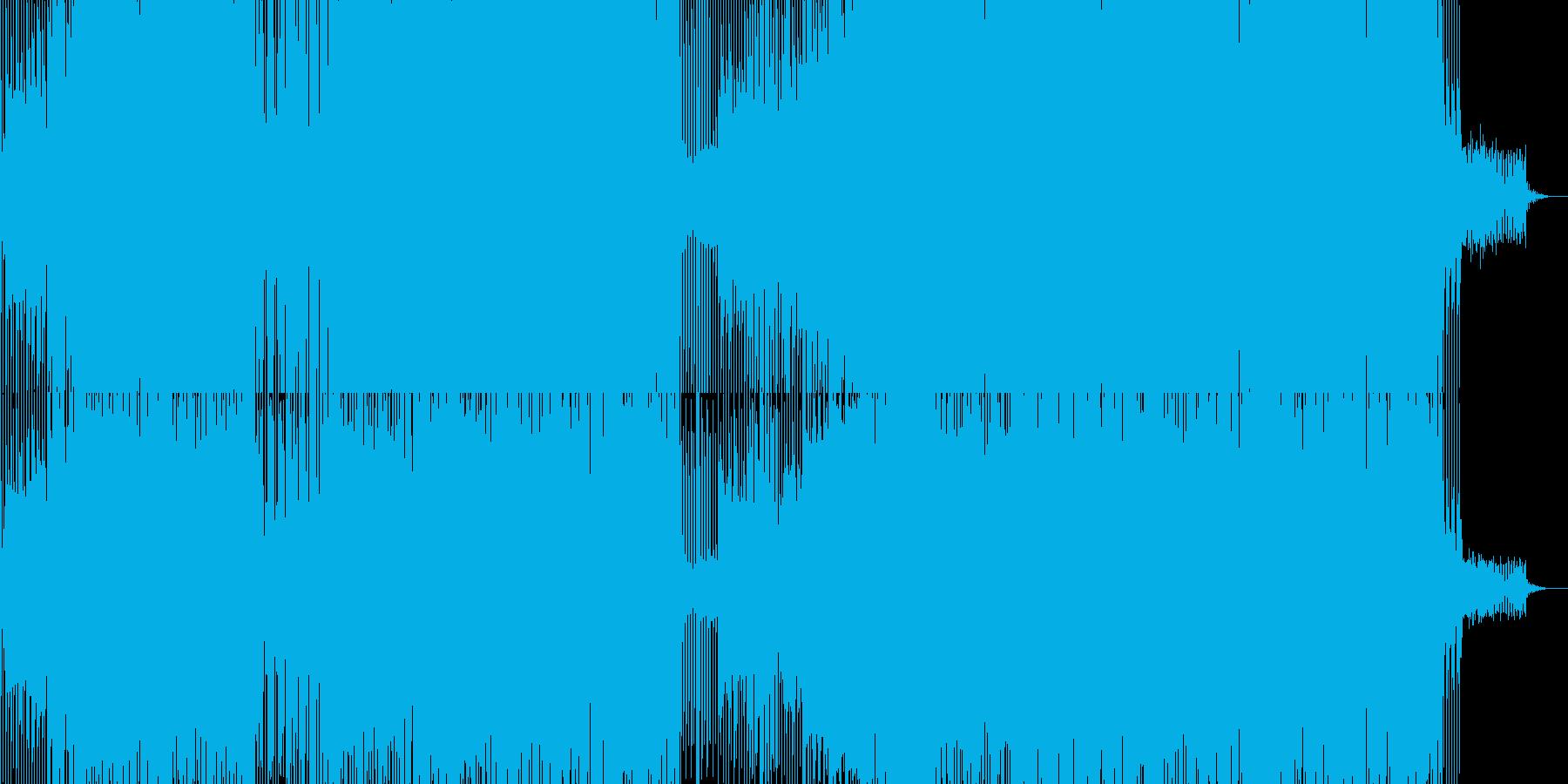 ベースがブリブリのダンス曲。の再生済みの波形
